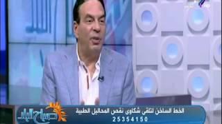 د /ايمن ابو العلا : لا ازمة في تصنيع المحاليل والازمة رقابية