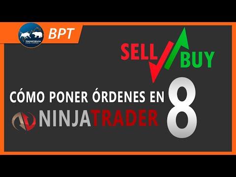 Cómo poner órdenes en Ninjatrader 8 ¡Fácil en 7 minutos!
