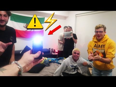 Thumbnail: HOT POTATO WITH TASER (Bad Idea)