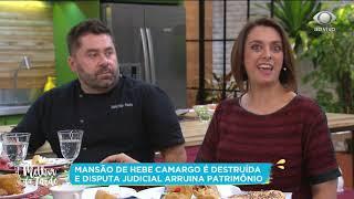 Disputa judicial destrói casa de Hebe Camargo