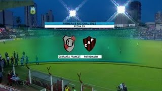 Guaraní Antonio Franco vs Patronato full match