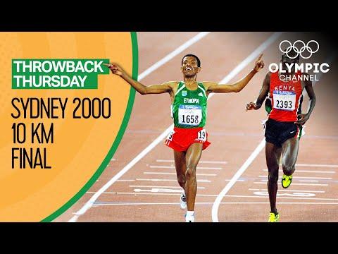 Haile Gebrselassie - 10,000m - Sydney 2000   Throwback Thursday