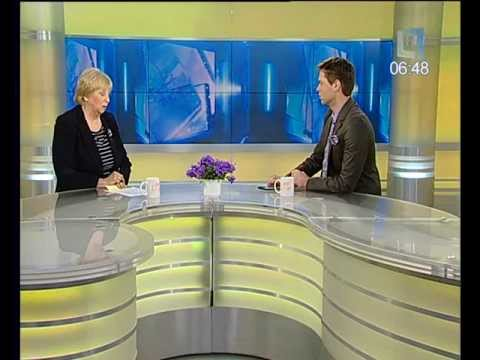 """«Labas rytas» Klimatologė A.Galvonaitė: """"Žiema baigsis pavasarį"""" (komentaras) 2012 03 08"""