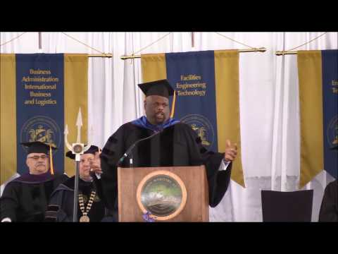 Cal Maritime Commencement Ceremony 2017 - Commencement Speaker, Dr. Rick Rigsby - Part 7 of 8