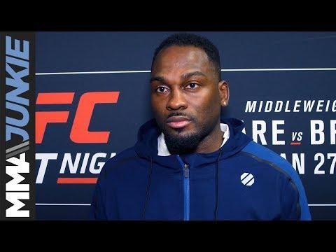 UFC on FOX 27: Derek Brunson full post-fight interview