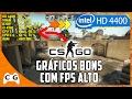 CS:GO Teste Intel HD Graphics e Dica Como Aumentar os FPS no Windows 7, 8.1 e 10 #289