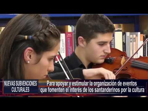 Nuevas subvenciones culturales en Santander