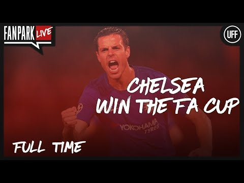Chelsea 1 - 0 Manchester United - FA CUP FINAL - Full Time Phone In - FanPark Live