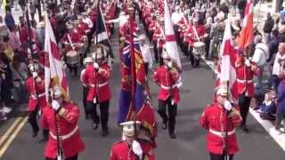 Gertrude Star (P2) @ 36TH Ulster Division Review Centenary Parade 2015