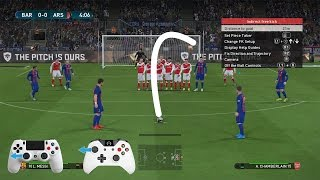 PES 2017 - Free Kick Tutorial (Xbox & Playstation) HD