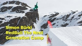 Simon Bürki at the Redbull Next Generation Camp