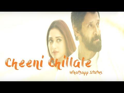 Cheeni Chillale Whatsapp Status Video Song...