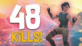 48 KILLS | SQUAD GAME w/ Dakotaz, Calvin & OPscT