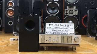 Chào buổi sáng các bác Bộ Dàn loa bose am5 seri3 và amly Nhật bãi nguyên bộ 10,8tr Thắng Audio