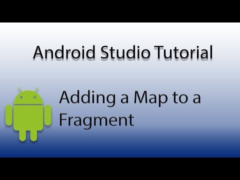 Android Studio: Add Map to Fragment - YouTube