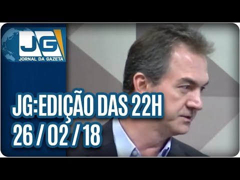 Jornal da Gazeta - Edição das 10 - 26/02/2018