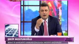 Şekip Mosturoğlu'nun açıklamaları
