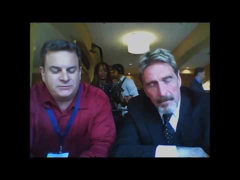Tom Mullen Interviews 2016  Libertarian Party Presidential Candidate John McAfee