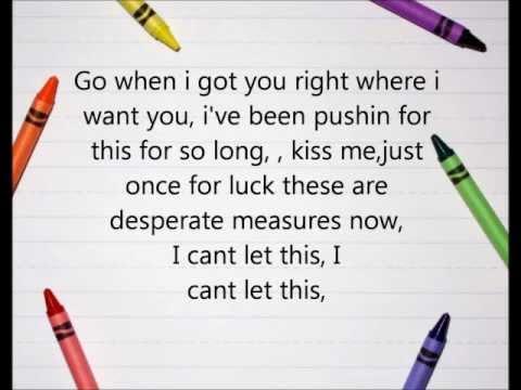 Desperate Measures- Marianas Trench (Song +Lyrics)
