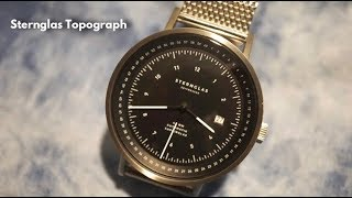 STERNGLAS Topograph Bauhaus Design Automatic Watch Review