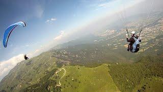 Paragliding Bassano del Grappa Juni 2014 - Gleitschirmfliegen