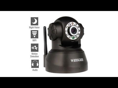 Обзор беспроводной IP камеры. Полная видео инструкция по настройке.