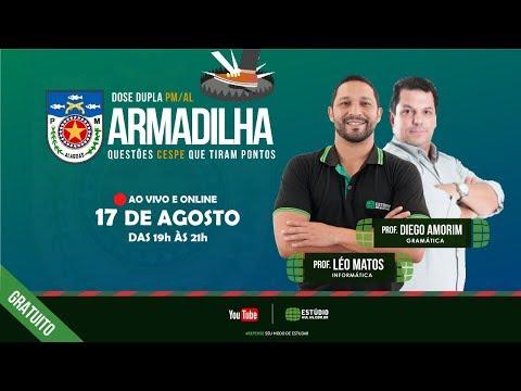 Armadilha | Questões que tiram pontos | Prof. Léo Matos e Prof. Diego Amorim