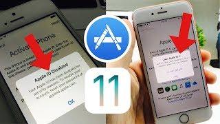 حل مشكلة تعطيل حساب الاب ستور وفتح الحساب المقفل Apple ID Disabled