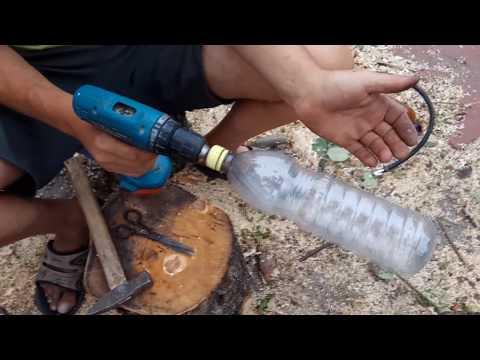Выпрямление пластиковых, фигурных  бутылок.