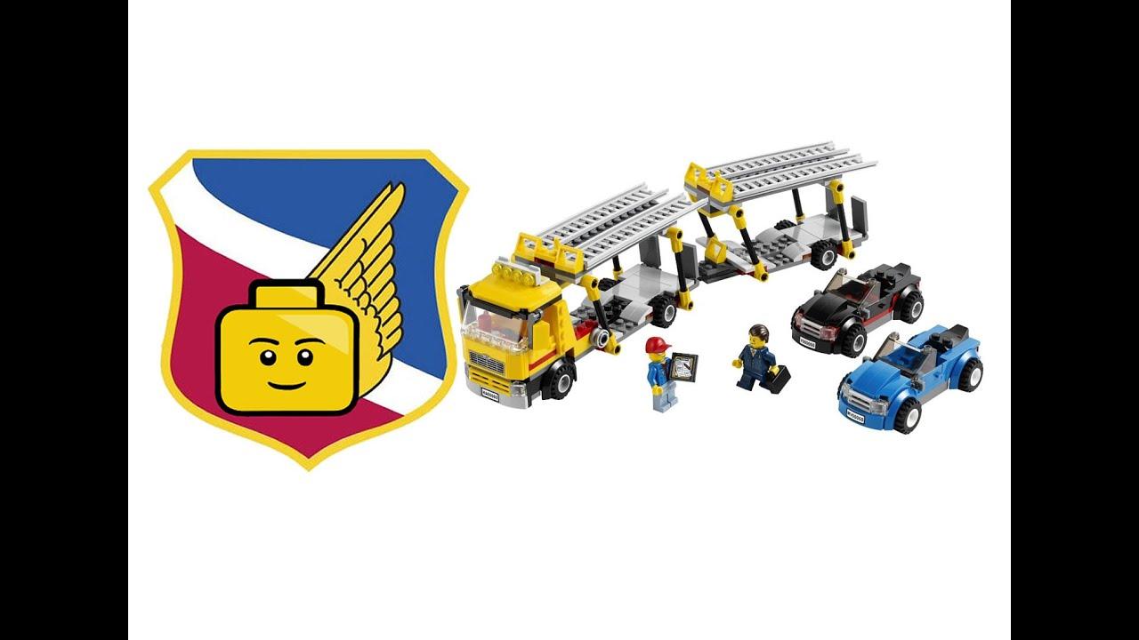 Lego city great vehicles 60060 auto transporter car for Brick city motors reviews
