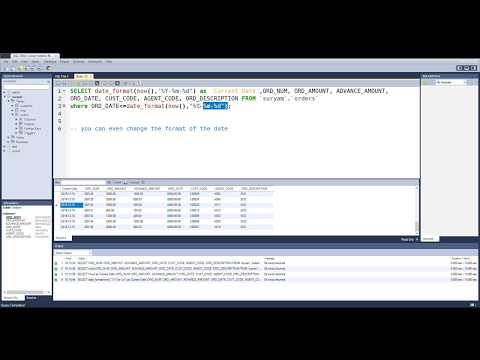 How to insert current datetime in mysql query