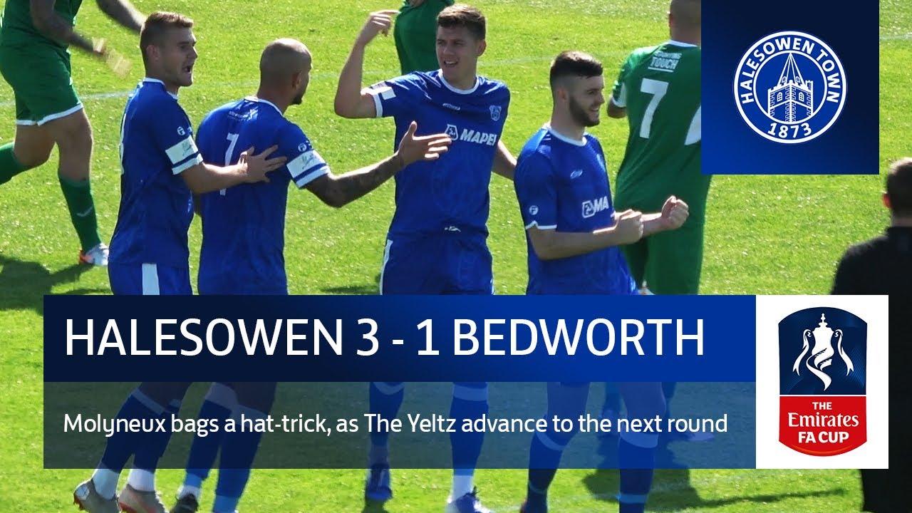 Halesowen Town vs Bedworth United | Emirates FA Cup