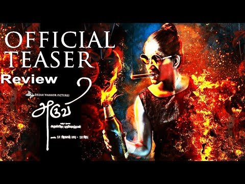 ARUVI TEASER OFFICIAL REVIEW | ARUVI MOVIE...