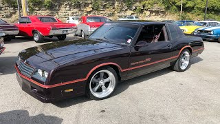 Test Drive 1986 Chevy Monte Carlo SS $9,950 Maple Motors