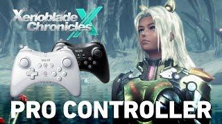 Steuerung in Xenoblade Chronicles X mit Gamepad und Pro Controller Wii U