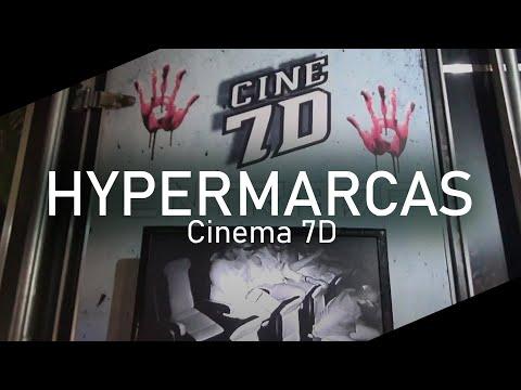 Diversão total no Cinema 7d da Ubergeek - HyperMarcas - Moema