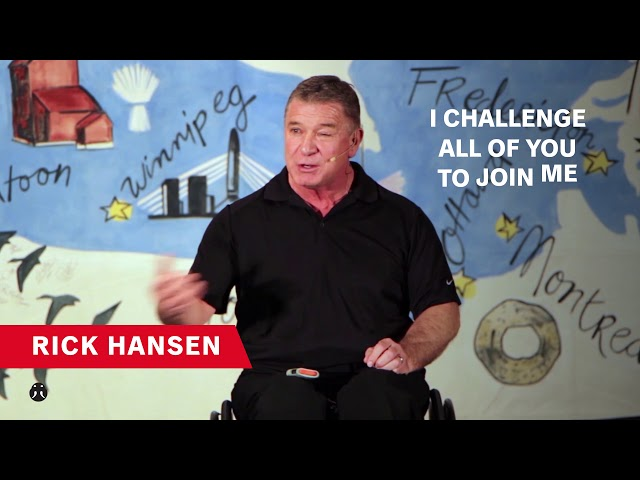 10. Be Proud: Rick Hansen