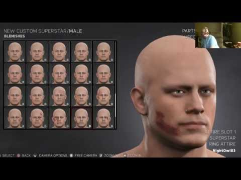 WWE 2K17 Creation Suite Exploration