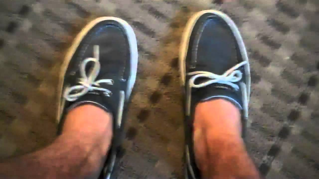 Sperry Shoes Without Leather Shoelaces