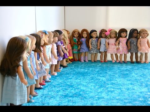 All My American Girl Dolls Spring 2015 ~ HD MUST WATCH IN HD ~