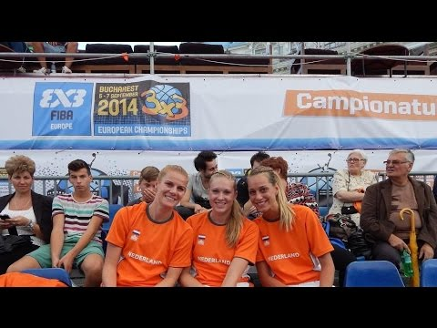 Lisa van den Adel - Netherlands vs Slovenia @ 3×3 EuroTour Basketball Competition
