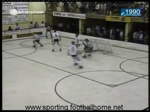 Hoquei Patins :: Turquel - 2 x Sporting - 3 de 1989/1990