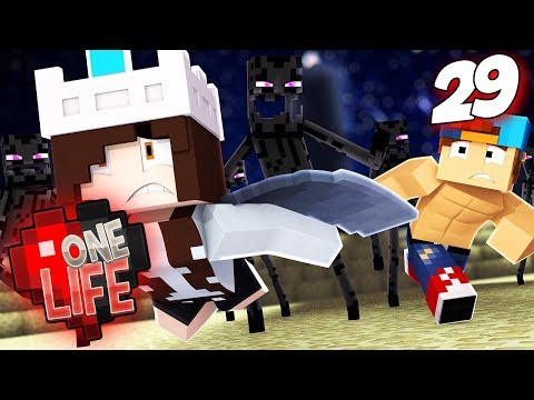 WILL I SURVIVE THIS FALL!? | One Life SMP...