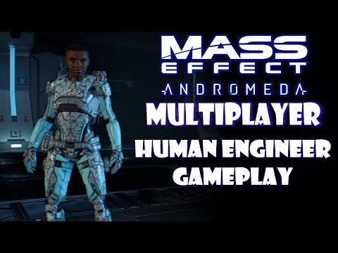 Mass Effect Andromeda Multiplayer - Level 20 Gold Human Engineer Multiplayer Gameplay