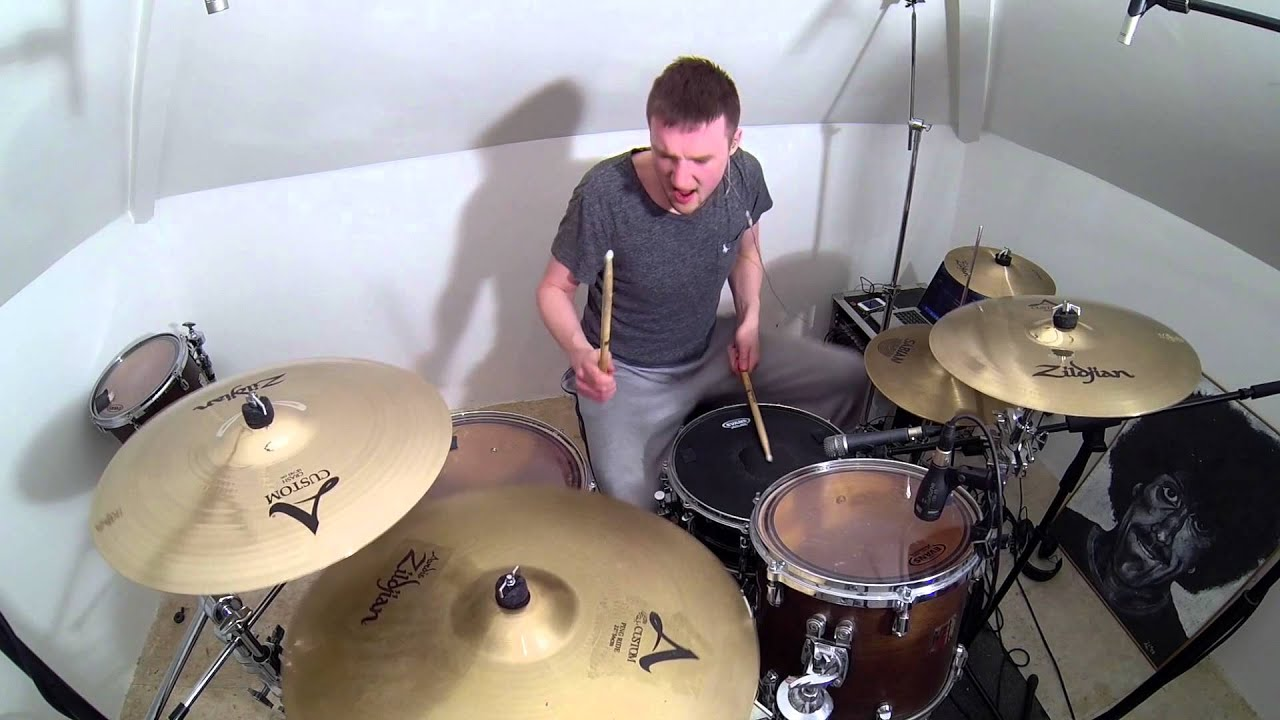 Download Nirvana - Breed (Drum Cover)