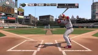 MLB 2K10 Gameplay (Phillies vs. Tigers)