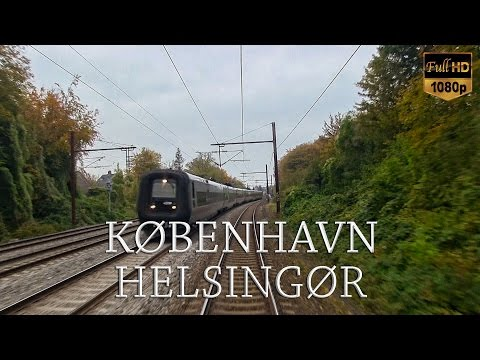Train Driver's View: Copenhagen to Helsingør (Part 2 of 2)