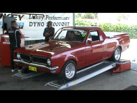 Hg Holden Ute Dyno Run Youtube