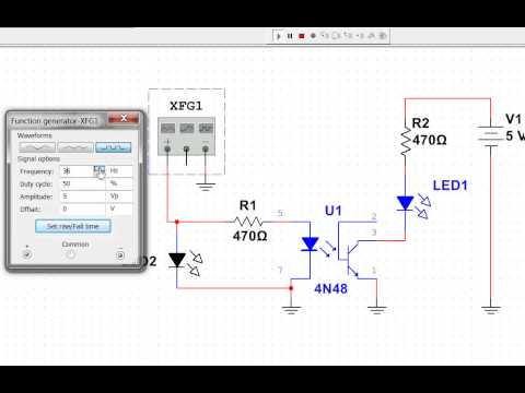 How to Test OPTO COUPLER?