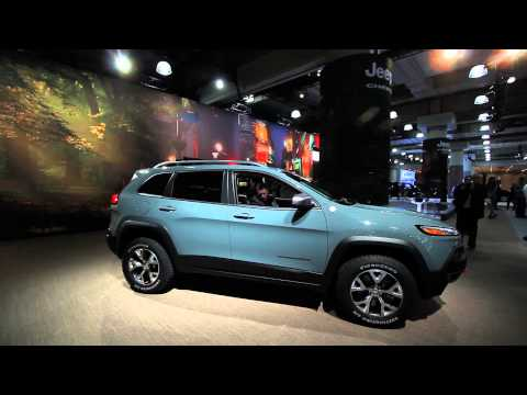 2014 Jeep Cherokee: Up Close @ 2013 New York Auto Show